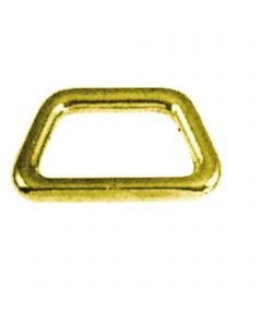Ring trapezoidal brass