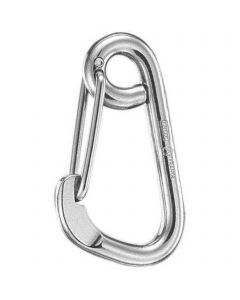 Snap hooks - stainless steel, asymmetrical