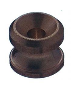 Tarpaulin button - brass