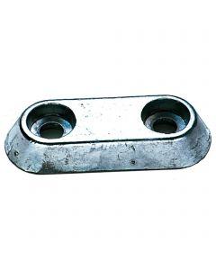 Hull Anode - zinc