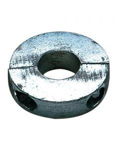 Wave anode - short, zinc