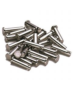 Clevis pin DIN 1434 with cross-hole - stainless steel