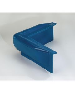 MAJONI Flat fender for corners - blue