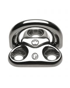 WICHARD Pad eyes foldable - stainless steel