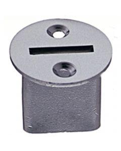 Flange for tarpaulin steel for inserting - brass