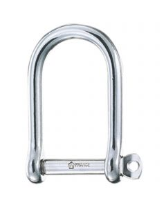WICHARD D-shackles - stainless steel, extra wide
