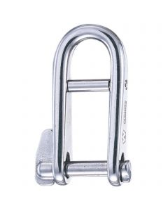 Key pin shackles - stainless steel, bar