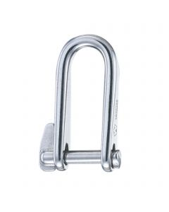 Key pin shackles - stainless steel