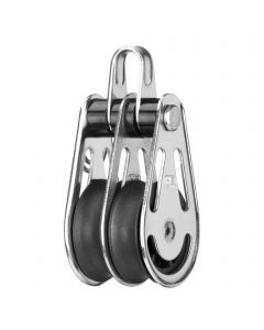 Sliding bearing block 8 mm - 2 sheaves, bow