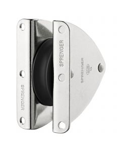 Mast cheek block sliding bearing 10 mm - 1 sheave
