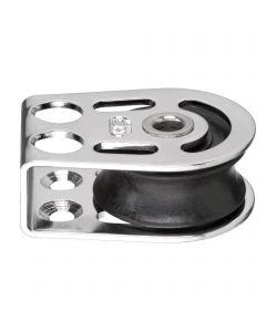 Cheek block sliding bearing 8 mm - hollow axle