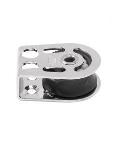 Cheek block ball bearing 8 mm - hollow axle