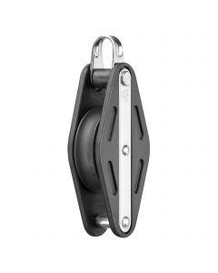 Sliding bearing block 12 mm - 1 sheave, bow, becket