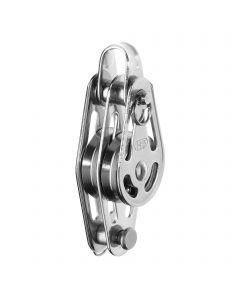 High load block ball bearing 3-5 mm - 2 sheaves, bow, becket