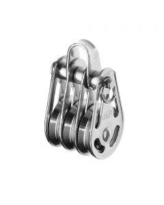 High load block ball bearing 3-5 mm - 3 sheaves, bow