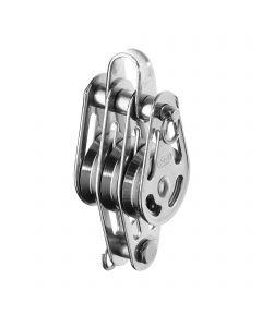 High load block ball bearing 3-5 mm - 3 sheaves, bow, becket