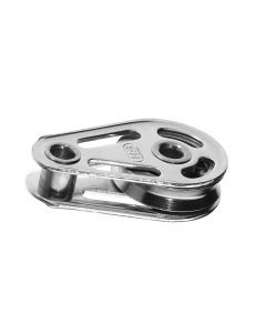 High load cheek block ball bearing 8 mm - 1 sheave, hollow axles