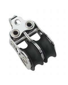 Micro XS block ball bearing 6 mm - 2 sheaves, bow