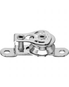 Micro XS cheek block ball bearing 4 mm - 1 sheave, strap