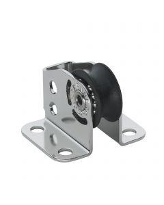 Micro XS upright block ball bearing 6 mm - 1 sheave