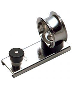Schlitten für Schiene 20 x 3 mm - Leitöse