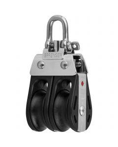 S-Block ball bearing 8 mm - 2 sheaves, adjustment set
