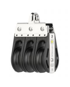 S-Block Gleitlager 10 mm - 3 Rollen, Bügel
