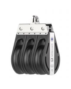 S-Block Nadellager 12 mm - 3 Rollen, durchgehender Bügel