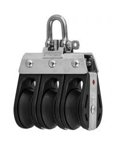 S-Block ball bearing 8 mm - 3 sheaves, adjustment set