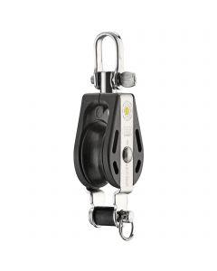 S-Block Gleitlager 8 mm - 1 Rolle, Wirbel, Hundsfott