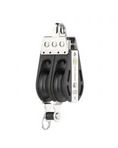 S-Block sliding bearing 10 mm - 2 sheaves, bow, becket