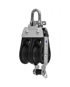 S-Block needle bearing 8 mm - 2 sheaves, adjustment set, becket
