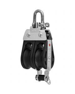 S-Block ball bearing 8 mm - 2 sheaves, adjustment set, becket