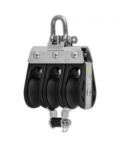 S-Block Gleitlager 8 mm - 3 Rollen, Arretierset, Hundsfott