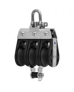 S-Block needle bearing 8 mm - 3 sheaves, adjustment set, becket