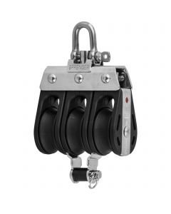 S-Block Kugellager 8 mm - 3 Rollen, Arretierset, Hundsfott