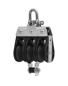 S-Block ball bearing 8 mm - 3 sheaves,adjustment set, becket