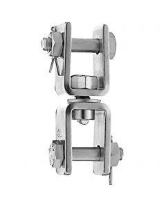 Buoy swivel - stainless steel, 110 x 22 mm