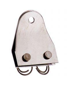 Cheek strap - stainless steel