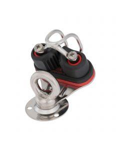 Swivel base sliding bearing 12 mm - cam cleat, fairlead