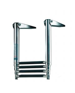 Telecopic bathing ladders - stainless steel
