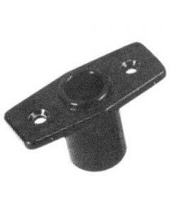 Oarlock socket ø 17 mm - plastic