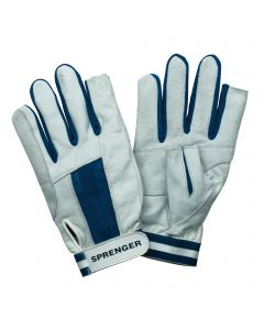 Sailing gloves - goat leather, thumb and index finger without tip