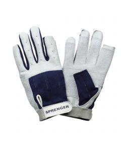 Segel-Handschuhe - Kalbsleder, Daumen und Zeigefinger ohne Kuppen