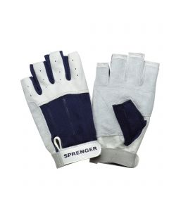 Sailing gloves - calf leather, without fingertips